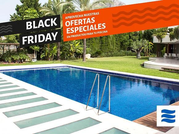 Ofertas Black Friday en Piscinas: productos, nuevas instalaciones y rehabilitaciones.